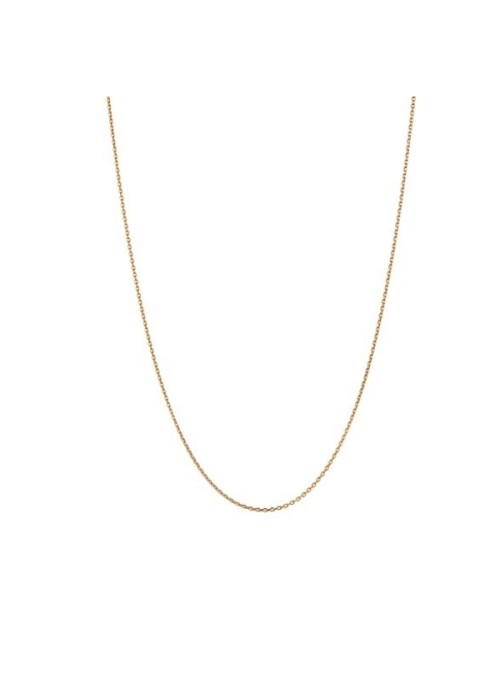 Stine A Plain Pendant Chain Short gold
