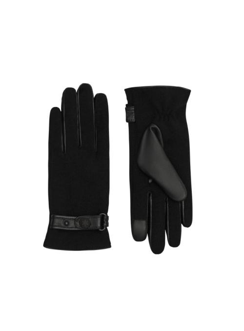 Randers handsker Carina sort skind handske