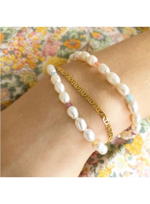 Stine A Petit Link Bracelet Gold