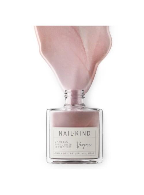 Nail Kind Silk Slip metallic rose