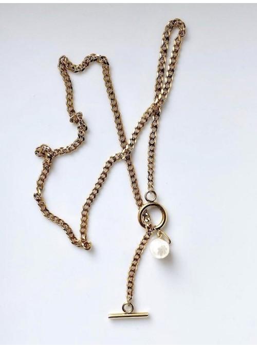 Ellyr Sofia cool lock halskæde