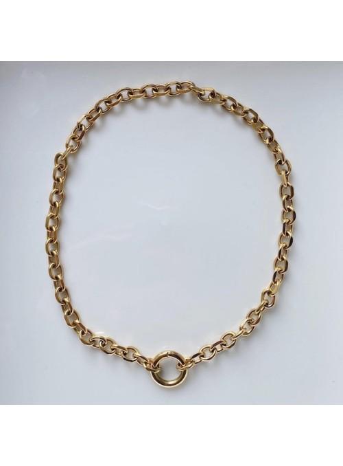 Ellyr Agnes x ring halskæde