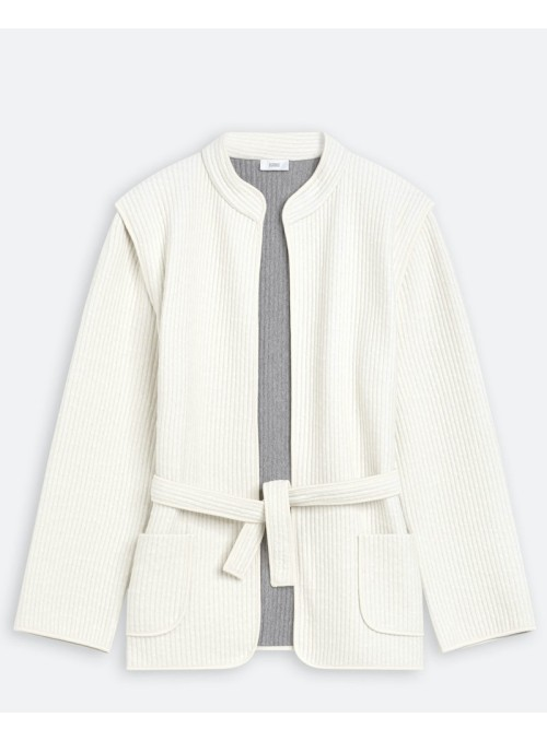 Closed Quilted jacket almond cream