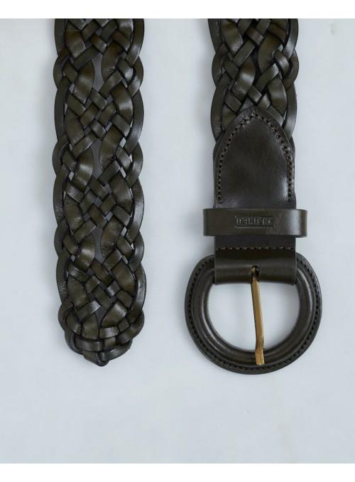 Closed belt army flettet bælte