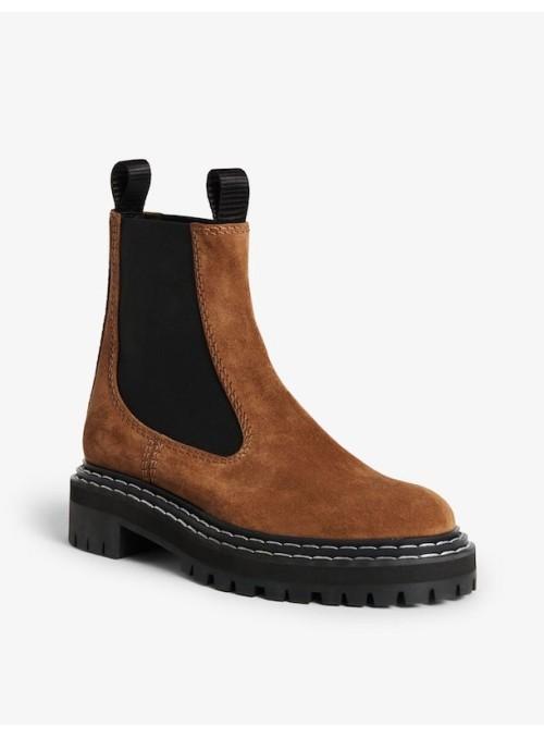 Proenza Schouler Chelsea boots almond