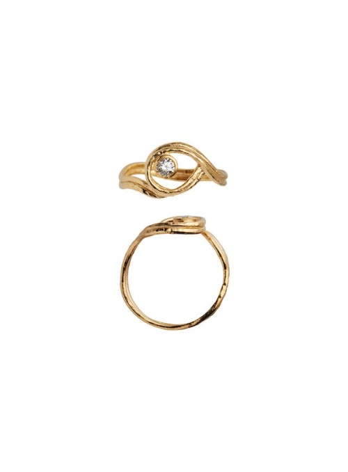 Stine A Balancé Ring with stones