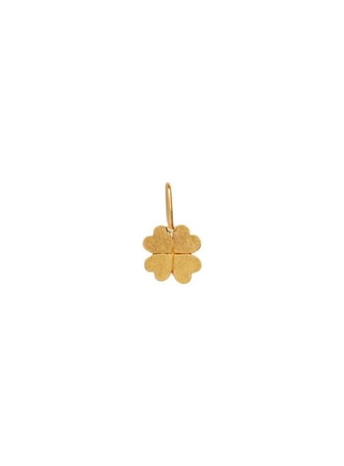 Stine A Petit clover charm gold